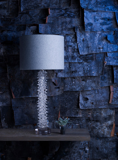 Thorn Column Lamp by Porta Romana