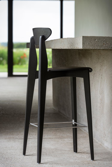 Ink Barstool - Oak Natural by Wildspirit