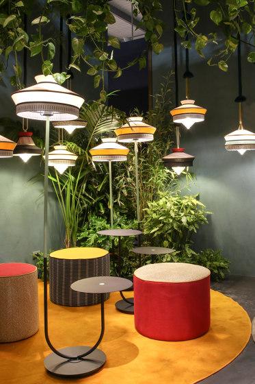 CALYPSO FL+TABLE MARTINIQUE OUTDOOR by Contardi Lighting