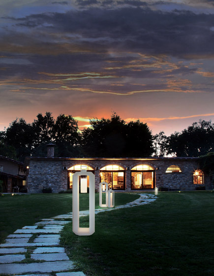 CUBE OUTDOOR SMALL BATTERY by Contardi Lighting