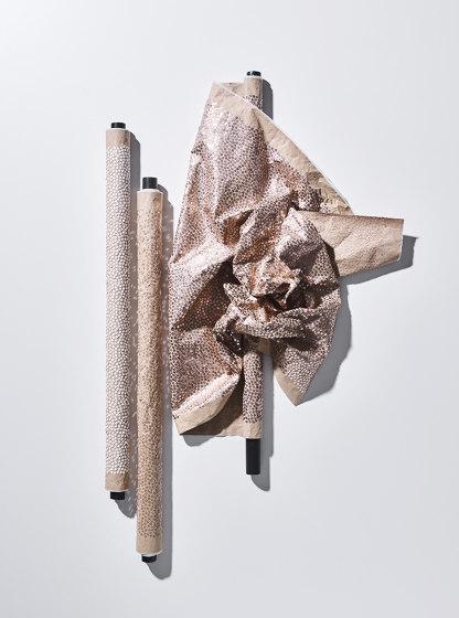 Papierpaille col. 102 ecru/copper by Jakob Schlaepfer