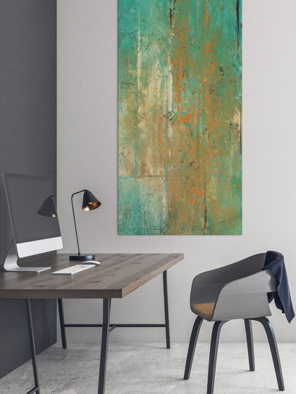 Sound Absorbing Acoustic Frame Motif Sumatra by Akustikbild