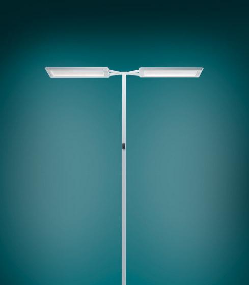 YARA.single Free-Standing Luminaire by H. Waldmann