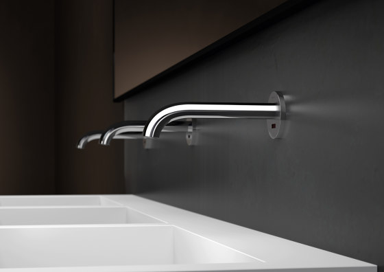 Tap System Piave | wall-mounted washbasin tap by Geberit