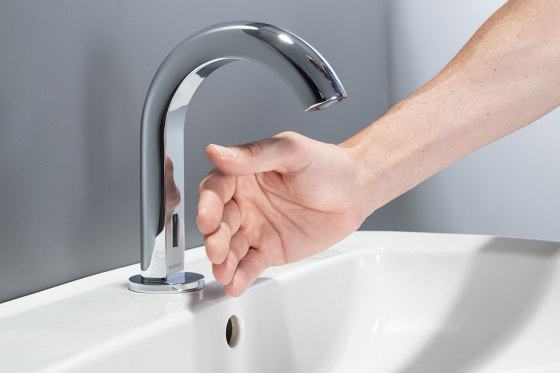 Tap System Piave | deck-mounted washbasin tap by Geberit
