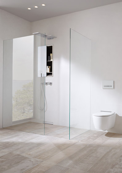 Floor-even shower solutions | shower surface Setaplano by Geberit