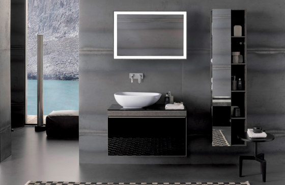 Citterio | tall cabinet black by Geberit
