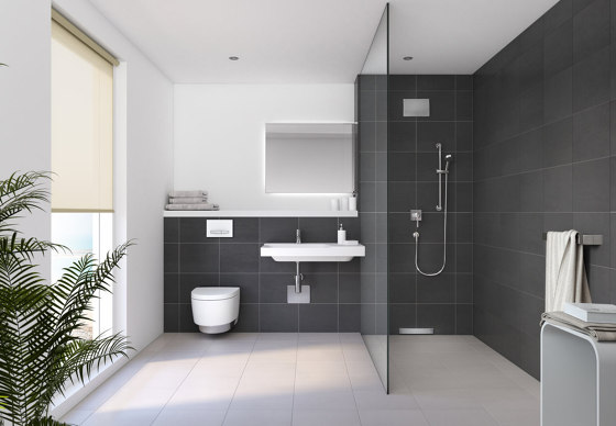 Xeno² | washbasin cabinet with two drawers white by Geberit