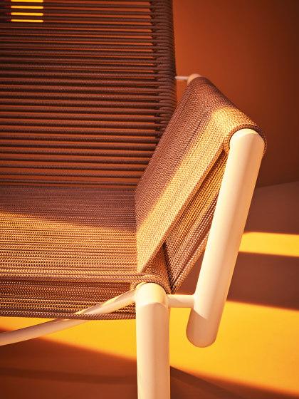 Eleven | Armrest Lounge Chair (Upholstered) by Terraforma