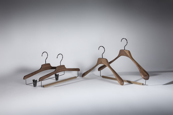 Light Design Collection - American Walnut Wood | Davide Hanger by Industrie Toscanini