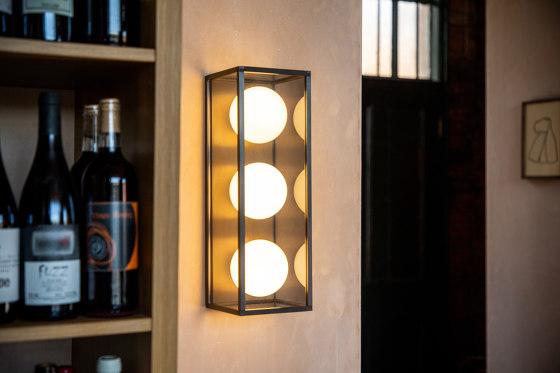 Pearl | Wall Light 3 - Satin Brass by J. Adams & Co