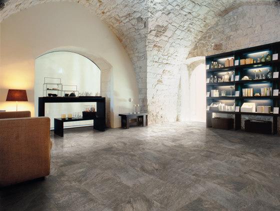 Anthology Stone Mosaico Dark Grey by EMILGROUP
