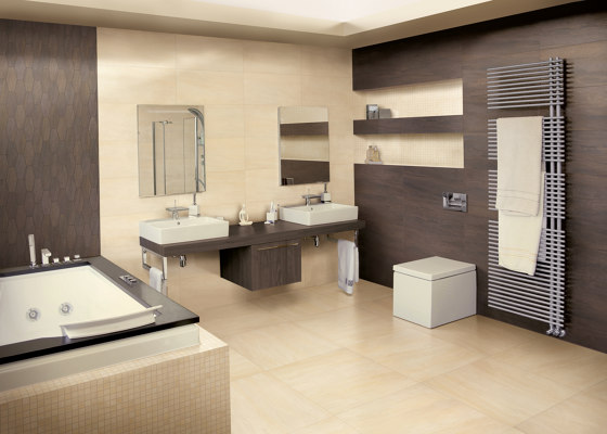 Elegance Mosaico Square Mix Brown by EMILGROUP