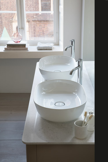 Luv Vanity unit for console floor-standing by DURAVIT