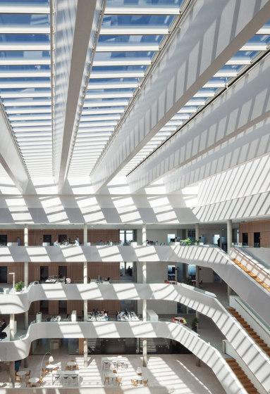 Atrium Ridgelight 5–25° by Velux Commercial