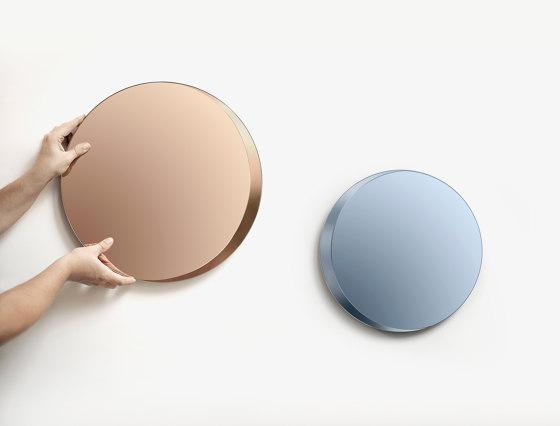 Cres Mirror clear (Ø 45 cm) by Caussa