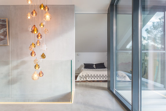 Circé wall lamp by Concept verre