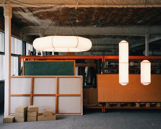 Tekiò Horizontal   Pendant Lamp by Santa & Cole