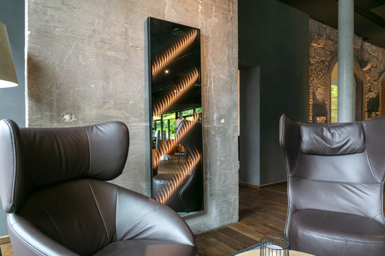ETTLIN LUX® Mirrorglass | Mirrorwall for individual design concepts by ETTLIN LUX®