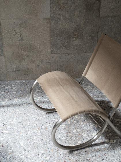 Richardt Chair | Raw Steel | Canvas by Frama