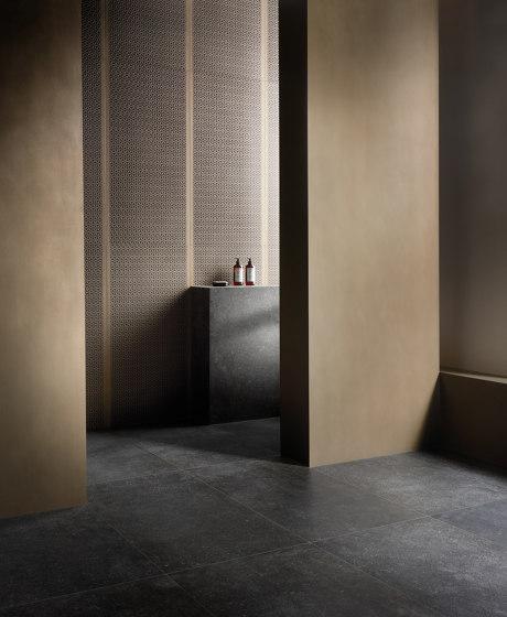 Metallique | Mosaic 30x30 Brune by Kronos Ceramiche