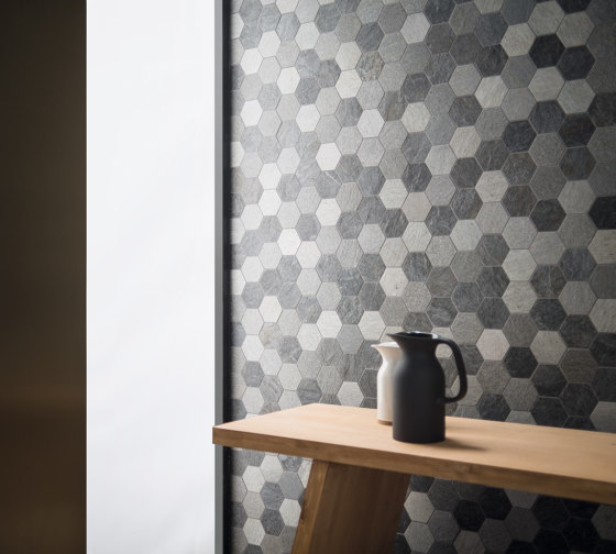 Rocks | Exa Mix Dark by Kronos Ceramiche
