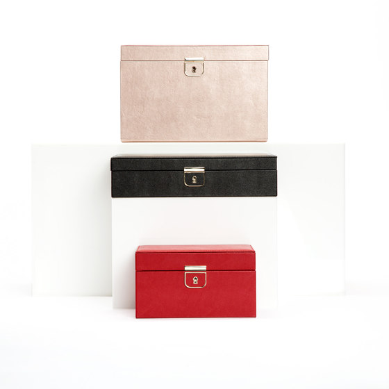Palermo Medium Jewelry Box | Red by WOLF