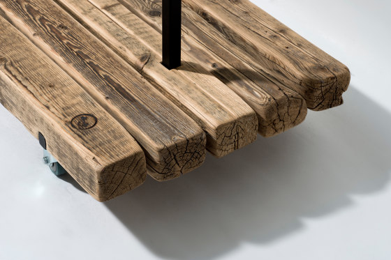Reclaimed Wood 02 Picture Ledge by weld & co