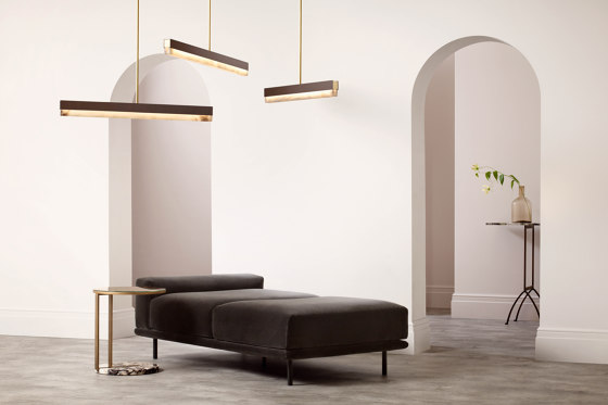 Artés 900 Wall Bronze by CTO Lighting