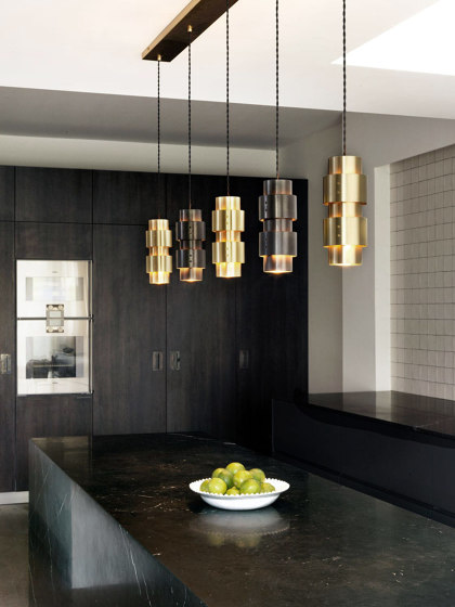 Ring wall satin brass by CTO Lighting