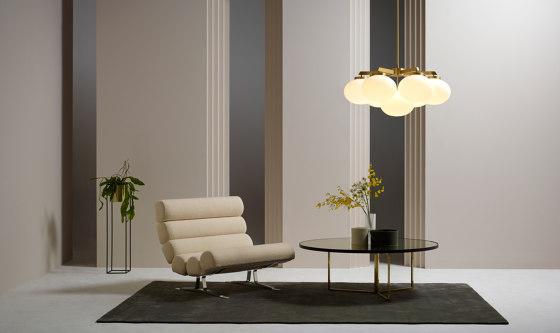 Cloudesley chandelier medium bronze by CTO Lighting
