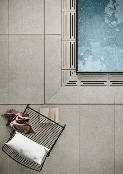 Area Pro | sand-beige Grid by AGROB BUCHTAL