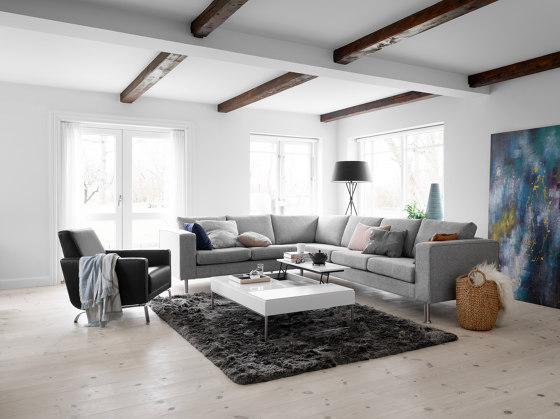 Indivi Sofa with lounging unit by BoConcept