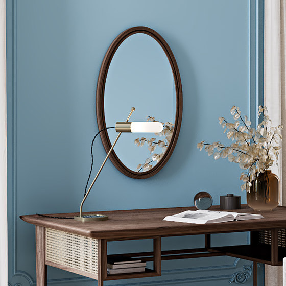 Standle Mirror - Small by Harris & Harris