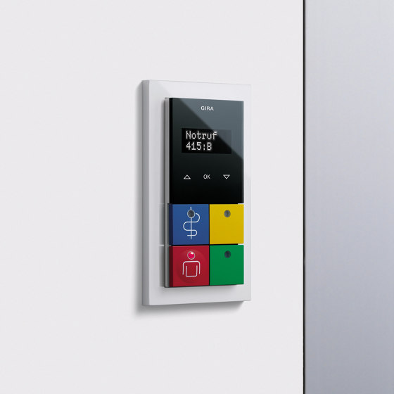 Callsystem | Room terminals, room modules by Gira