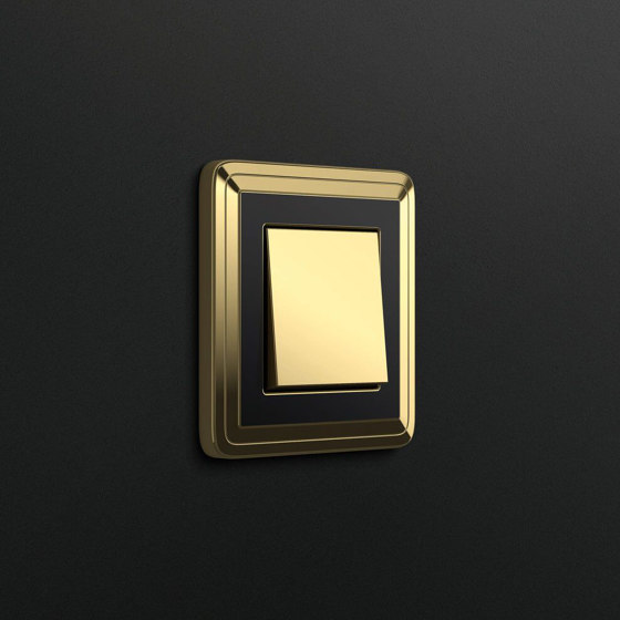 ClassiX | Socket outlet Art Brass by Gira