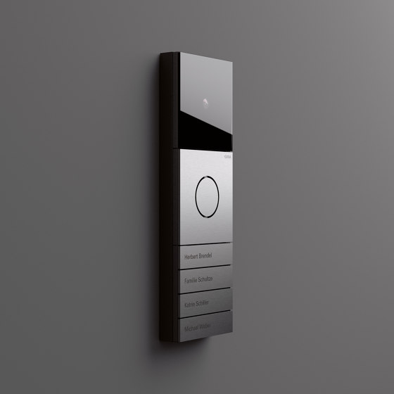 Door Communication   System 106   Colour Aluminium by Gira