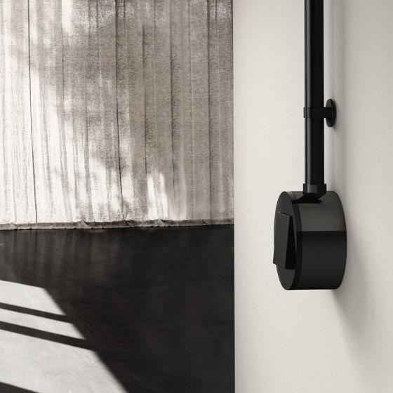 Studio | Switch Glass black, surface-mounted by Gira