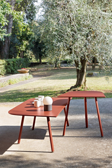Mosaiko low rectangular table by Fast