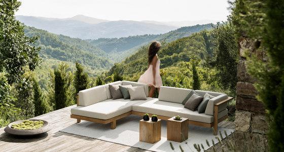Pure Sofa Meridienne Casual de Tribù
