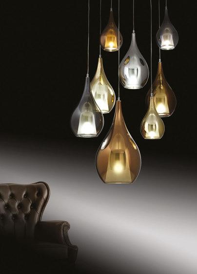 Zoe Suspension Lamp 3L Mix by Cangini e Tucci