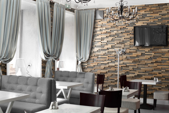 Bravo | Wall Panel by Wooden Wall Design