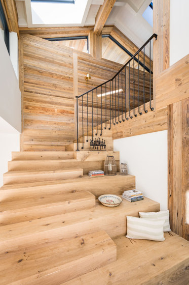 Reclaimed Wood | Weathered brushed boards by Wooden Wall Design
