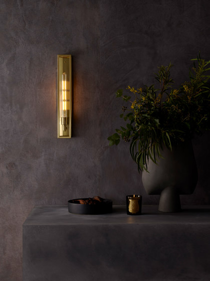 Harvard Wall | Natural Brass by Astro Lighting