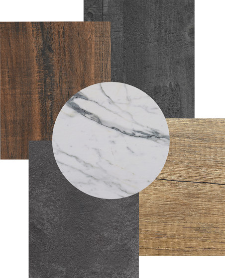 StableTable Compact Laminates   Teak - 105 by StableTable