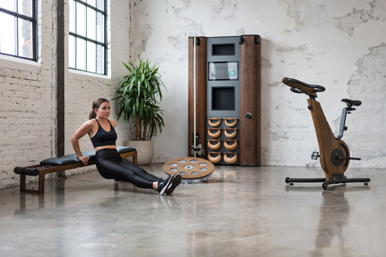 NOHrD Wall Compact Cherry by WaterRower