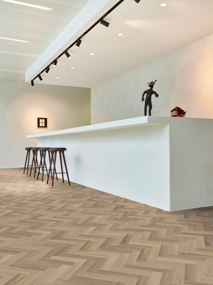 Moduleo 55 Woods | Ethnic Wenge 28160 by IVC Commercial