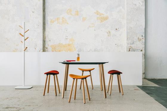 Coma Wood stool di ENEA