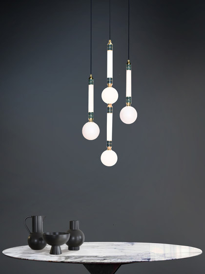 Greenstone Pendant - Small by Marc Wood Studio