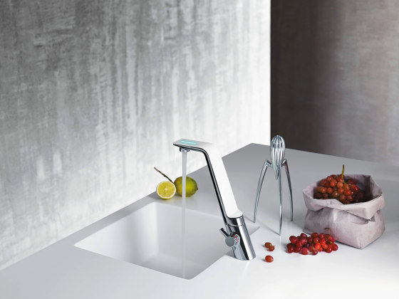 ALESSI Sense by HANSA | Kitchen faucet, 230/12 V by HANSA Armaturen